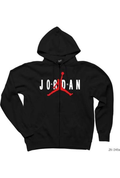 Zepplin Giyim Air Jordan Classic Fermuarlı Kapşonlu Sweatshirt