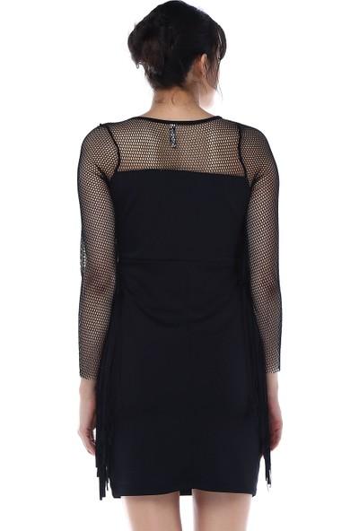 Sense 31490 Kol Ve Ön Püsküllü Elbise