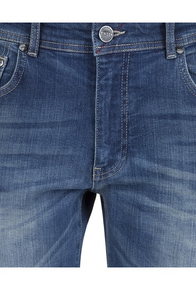 Tween Lacivert Pantolon Denim