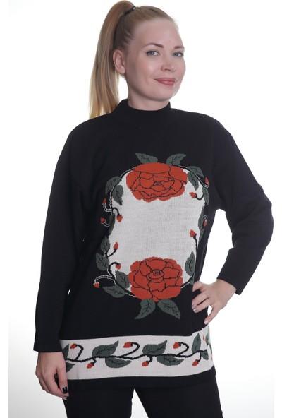 Sebat Kadın Kadın Triko Kazak 3247
