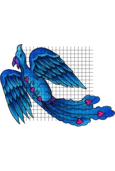Tatfast Anka Kuşu 31 Geçici Dövme - Flash Tattoo