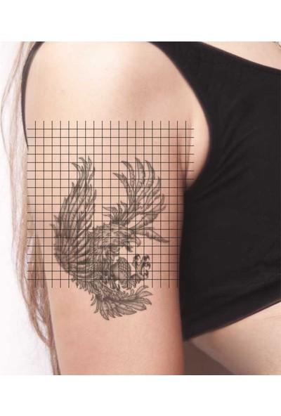 Tatfast Kartal 376 Geçici Dövme - Flash Tattoo