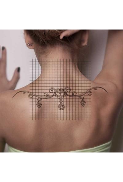 Tatfast Sırt 1780 Geçici Dövme - Flash Tattoo