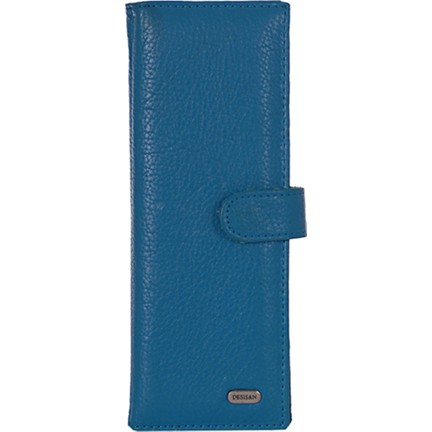 a2b410a4342e3 Desisan 211 Kadın Hakiki Deri Kartlık Mavi Fiyatı
