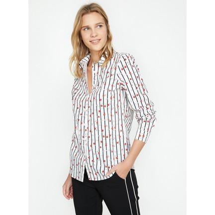 4c581c4103b3e Koton Kadın Baskılı Gömlek Fiyatı - Taksit Seçenekleri