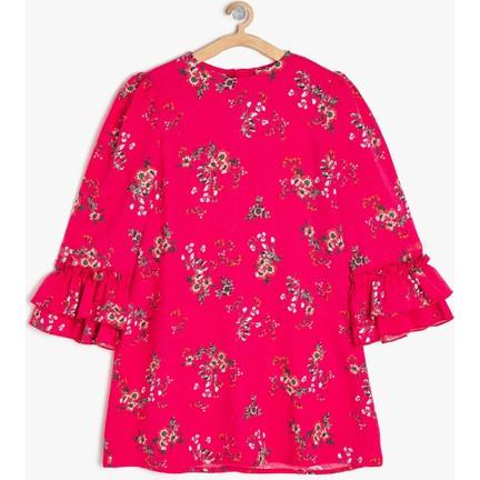 43a77a4549a4b Koton Kız Çocuk Desenli Elbise Fiyatı - Taksit Seçenekleri