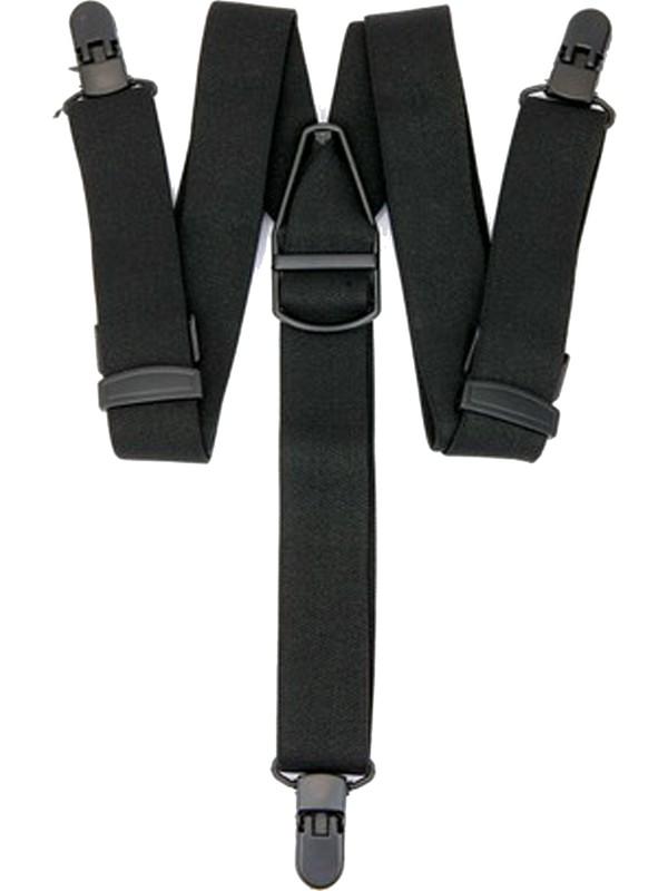 Velila Plastik Klipsli Yıkanabilir Antialerjik Pantolon Askısı Siyah
