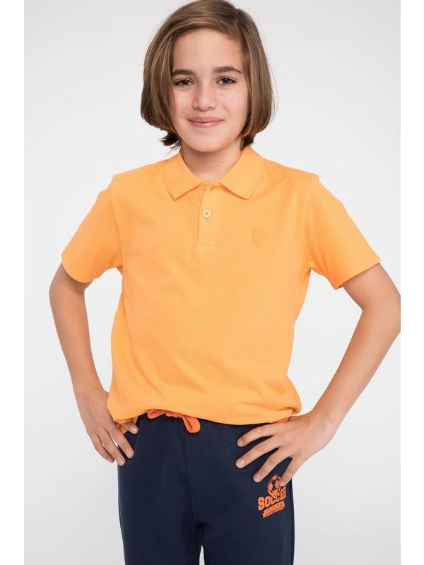 DeFacto Erkek Çocuk Polo Yaka Tişört K1690A619SP