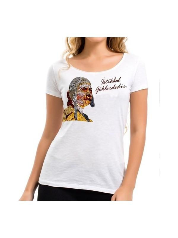 THK Design Sabiha Gökçen Kadın T-Shirt