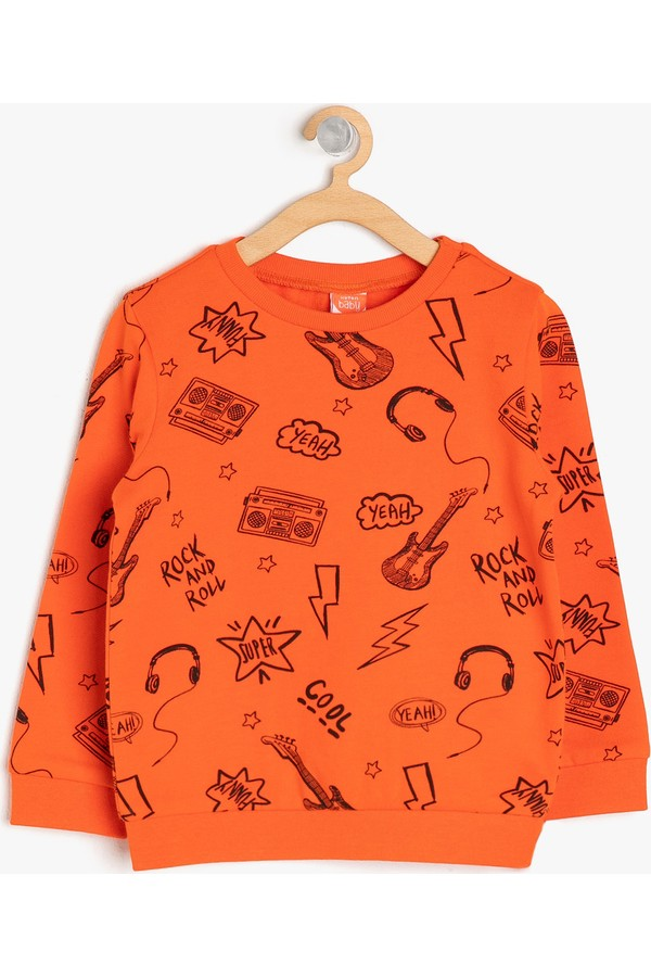 Printed Cotton Boy's Sweatshirts