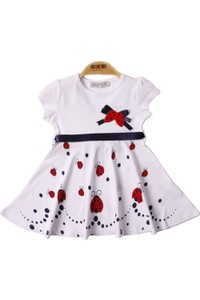 Toontoy Printed Dress for Baby Girls