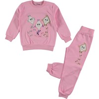 Cvl Kız Çocuk Pijama Takımı 2-5 Yaş Pembe