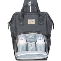 Fudela Mom-Baby Backpack Black