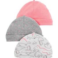 Carter's Layette Kız Bebek 3'lü Şapka 16662610