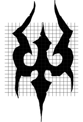 Tatfast Tribal 2373 Geçici Dövme - Flash Tattoo