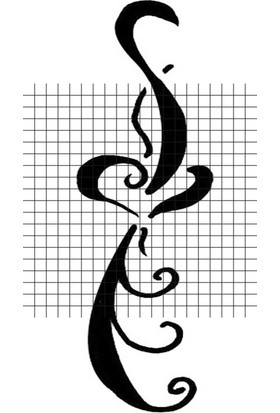 Tatfast Kalp 2928 Geçici Dövme - Flash Tattoo