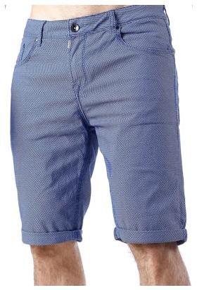 Cipo&Baxx CK172 Mavi Keten Erkek Sade Kapri Şort