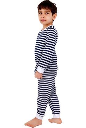 Bhr Kids Erkek Çocuk Daltonlar Pijama Takımı 1-4 Yaş Lacivert