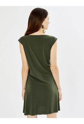ac1f1ed9872ac ... Xint Kadın Yuvarlak Yaka Kolsuz Viscon Mini Elbise