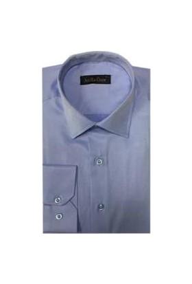 Atilla Özer 0977 Slim Fit Uzun Kol Gömlek