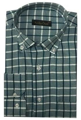 Atilla Özer 0495 Uzun Kol Klasik Erkek Gömlek