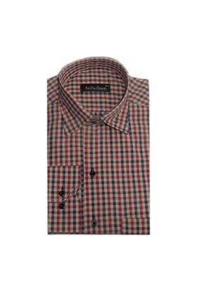 Atilla Özer 0378 Klasik Kesim Uzun Kol Gömlek