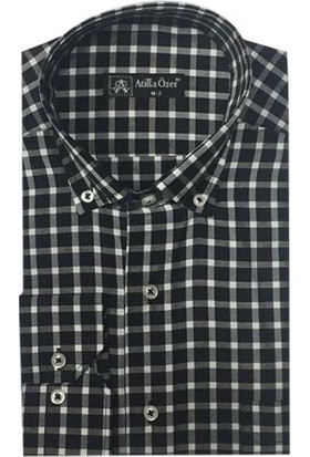 Atilla Özer 0364 Klasik Kesim Uzun Kol Gömlek