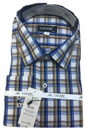Lugon 0306 Klasik Kesim Uzun Kol Gömlek