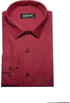 Lugon 0167 Uzun Kol Klasik Erkek Gömlek