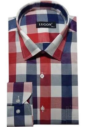 Lugon Uzun Kol Klasik Erkek Gömlek - 0131