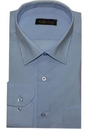 Atilla Özer 0044 Klasik Kesim Uzun Kol Gömlek