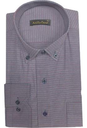 Atilla Özer Uzun Kol Klasik Erkek Gömlek - 1560