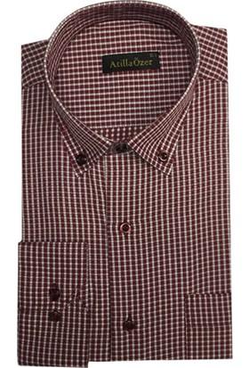 Atilla Özer Uzun Kol Klasik Erkek Gömlek - 1556