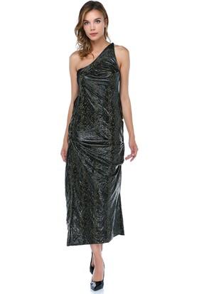 Tantrona Sırtı Açık Dantel Panelli Elbise