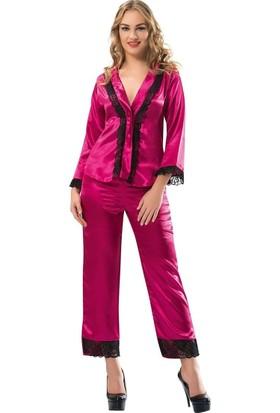Sistina Kadın Saten Pijama Takımı