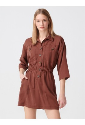 01e2daad28eba Kahverengi Elbise Modelleri ve Fiyatları & Satın Al - Sayfa 8