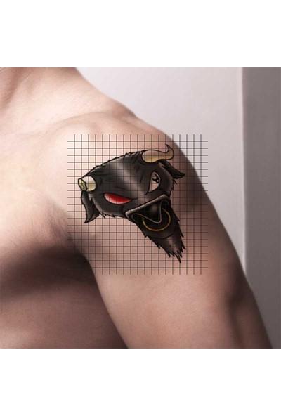 Tatfast Boğa 72 Geçici Dövme - Flash Tattoo