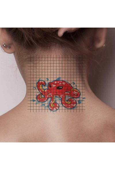 Tatfast Deniz Yaratığı 573 Geçici Dövme - Flash Tattoo