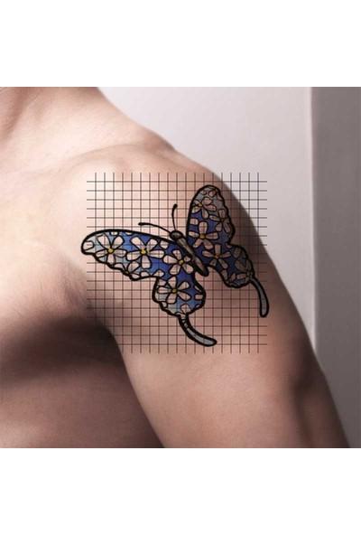 Tatfast Papatya 339 Geçici Dövme - Flash Tattoo