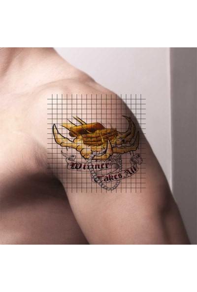 Tatfast Korsan 22 Geçici Dövme - Flash Tattoo