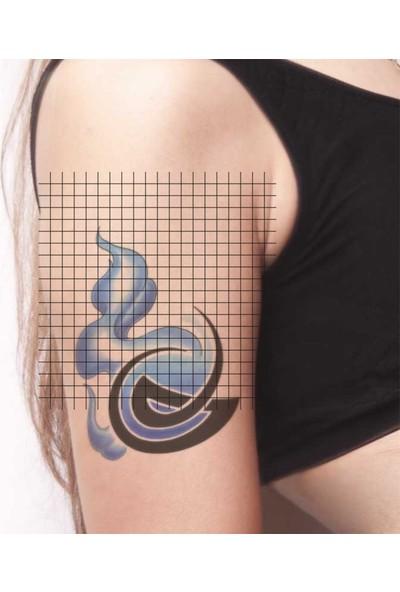 Tatfast Alev & Ateş 947 Geçici Dövme - Flash Tattoo