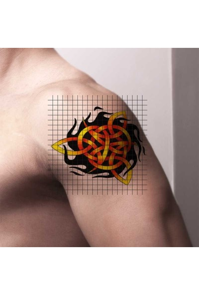 Tatfast Güneş 156 Geçici Dövme - Flash Tattoo