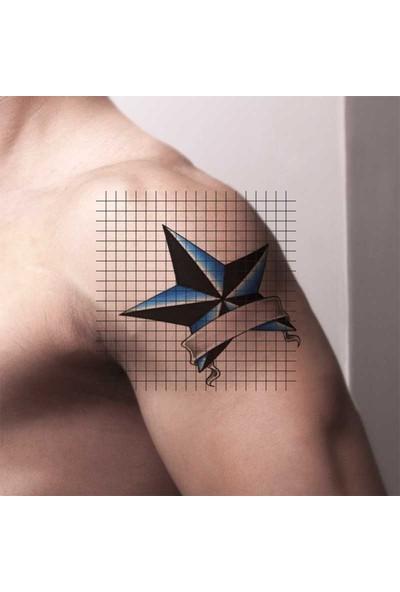 Tatfast Yıldız 78 Geçici Dövme - Flash Tattoo