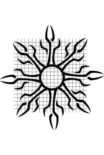 Tatfast Tribal 191 Geçici Dövme - Flash Tattoo