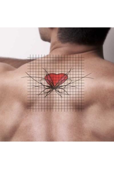 Tatfast Kalp 393 Geçici Dövme - Flash Tattoo