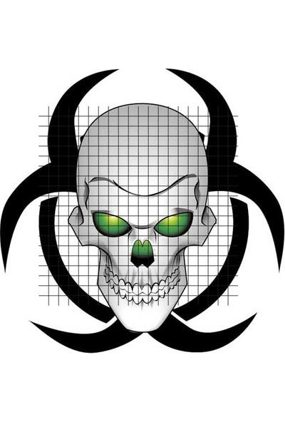 Tatfast Ürkütücü 2582 Geçici Dövme - Flash Tattoo