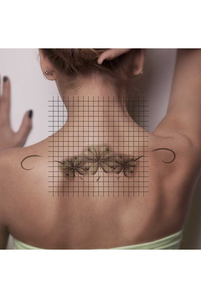 Tatfast Yonca 93 Geçici Dövme - Flash Tattoo