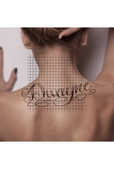 Tatfast Yazı 659 Geçici Dövme - Flash Tattoo