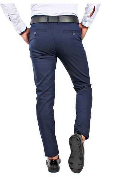 Terapi Men Erkek Keten Pantalon Likralı 7Y-2200068-01 Lacivert