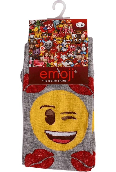 Çimpa Smile Desenli Çorap